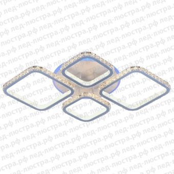 """Светодиодная люстра """"Spica-4 WH RGB Crystal"""""""